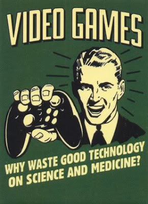 Retro gamer video games, funny gaming joke