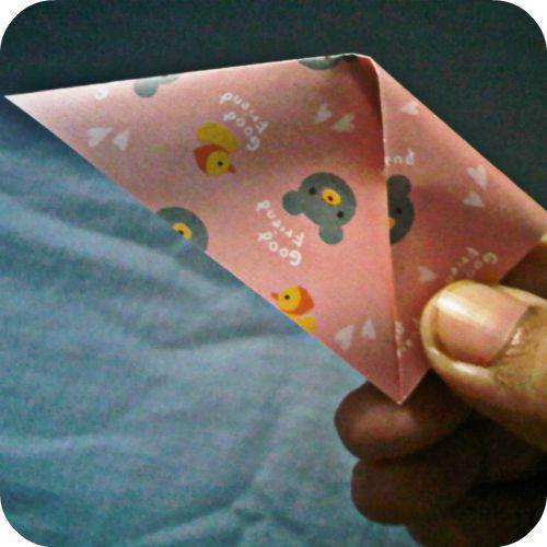 handmade by kikols: kanzashi flower dari kertas :)