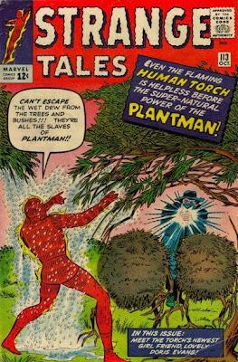 Strange Tales #113, Human Torch vs Plantman