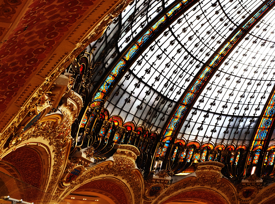 Dome, Gallerie Lafayette Paris - Tim Irving