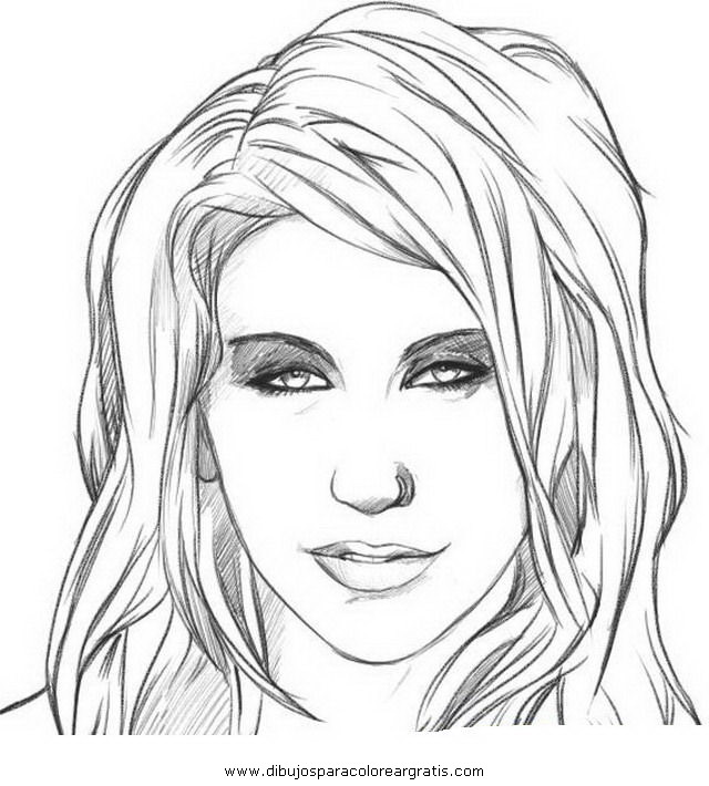 Dibujos de Rostros  Vida Blogger