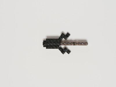 ナノブロックで作ったおたまじゃくし