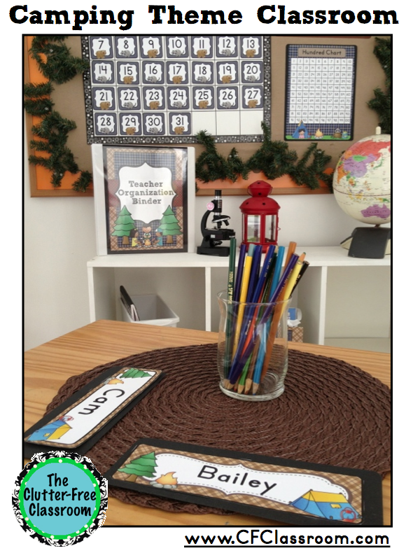 Camping Themed Classroom Decorations ~ Camping themed classrooms decor ideas printables tips