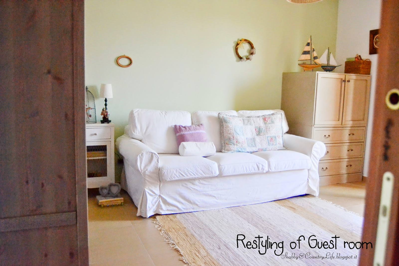 Restyling of my guest room - shabby&countrylife.blogspot.it