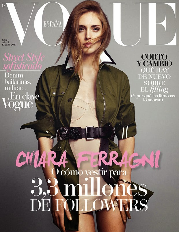 Vogue España abril 2015