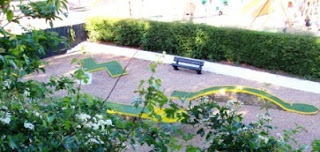 The Miniature Golf course in Colchester's Castle Park in 2011