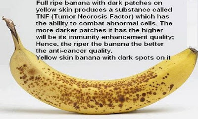 Health benefit of Yellow skin Banana