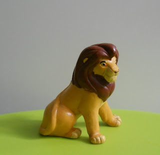 maqueta estática del rey león