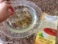 hojas de gelatina reblandecidas en agua fría