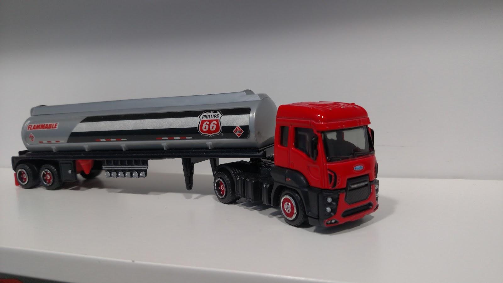 3inchdiecastbliss Custom Matchbox Ford Cargo With