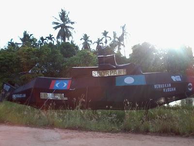 Replika Kapal Selam PAS