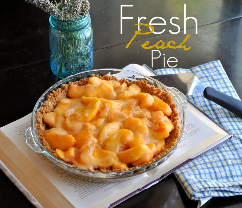 The Farm Girl Recipes: Fresh Peach Pie