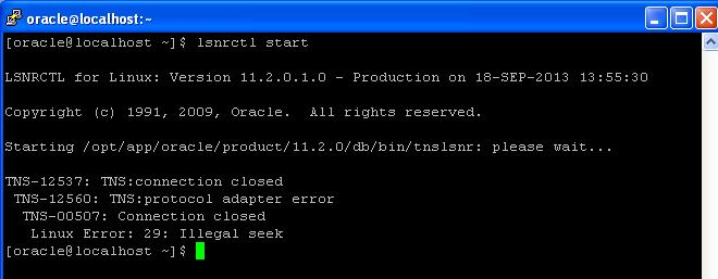 how to change oracle listener from localhost.localdomain to actual ip