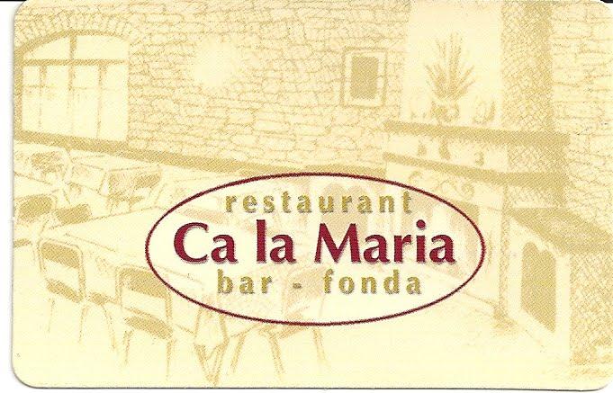 Bar Restaurant Ca la Maria