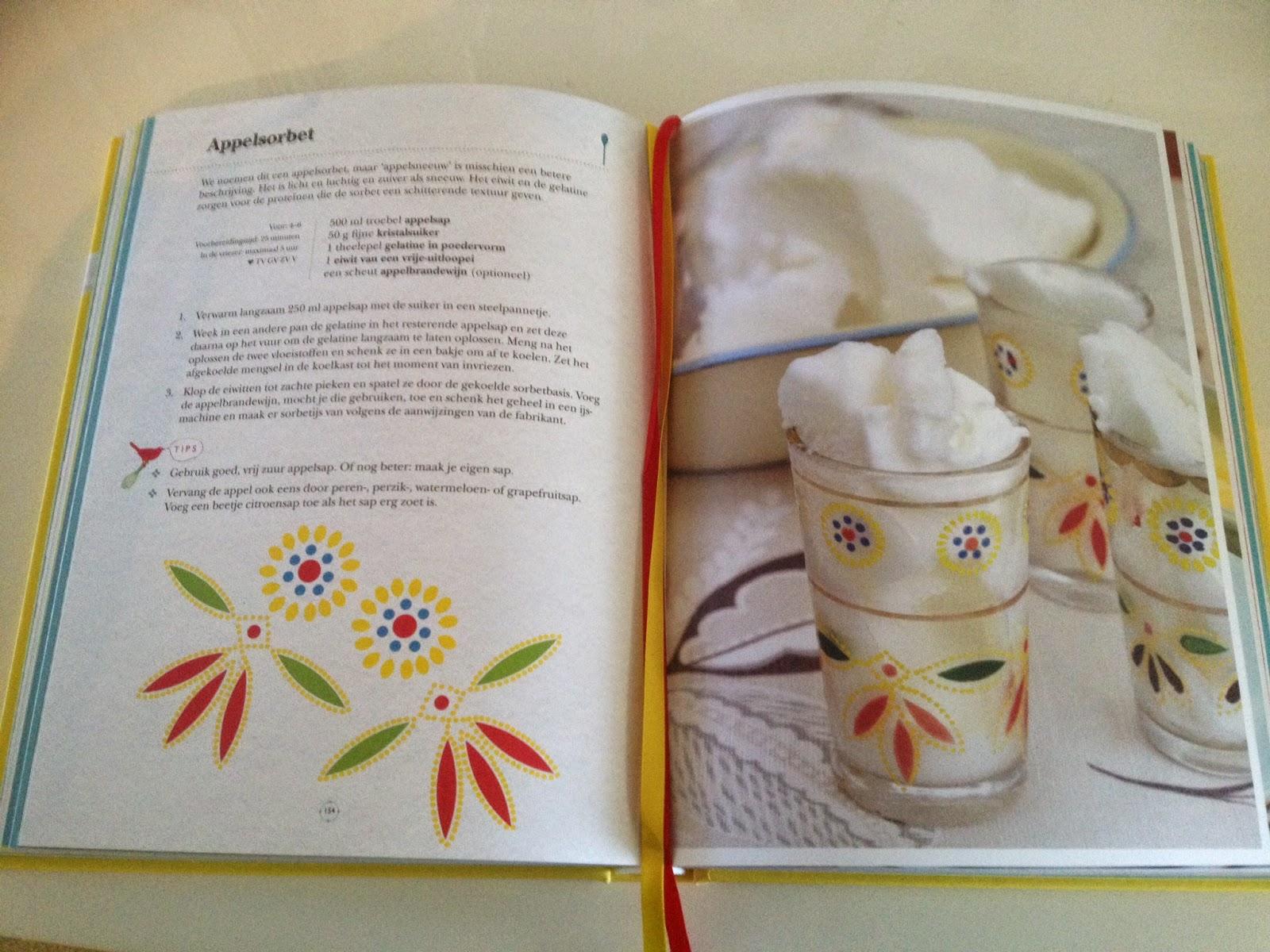 Kookboek Leon - recept appelsorbet