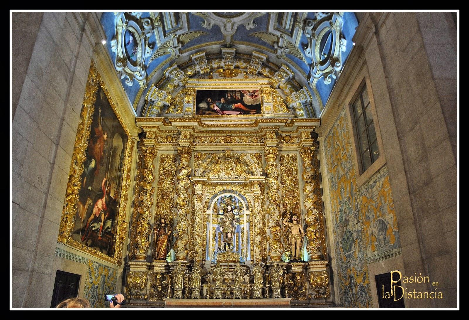 Capilla de San Roque en la iglesia de San Roque Lisboa Portugal Igrejas