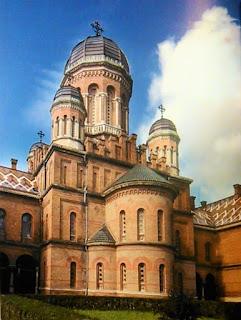 Pałac Metropolitów w Czerniowcach - obecnie terytorium Ukrainy