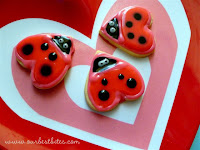 Tutorial: Valentine&#8217;s Day Lovebug Cookies