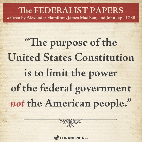 the federalist papers served the purpose of The people who mean to be their governors must arm themselves with the power which knowledge gives.