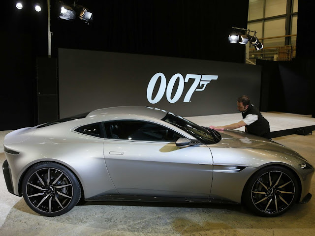 Ready for Bond's New Aston DB10 Ride