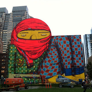 Color collage and much more color positivity for Boston dewey square mural