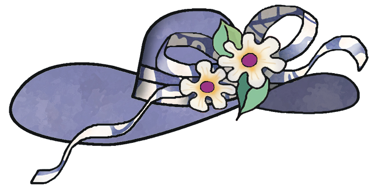 clipart easter bonnets - photo #9