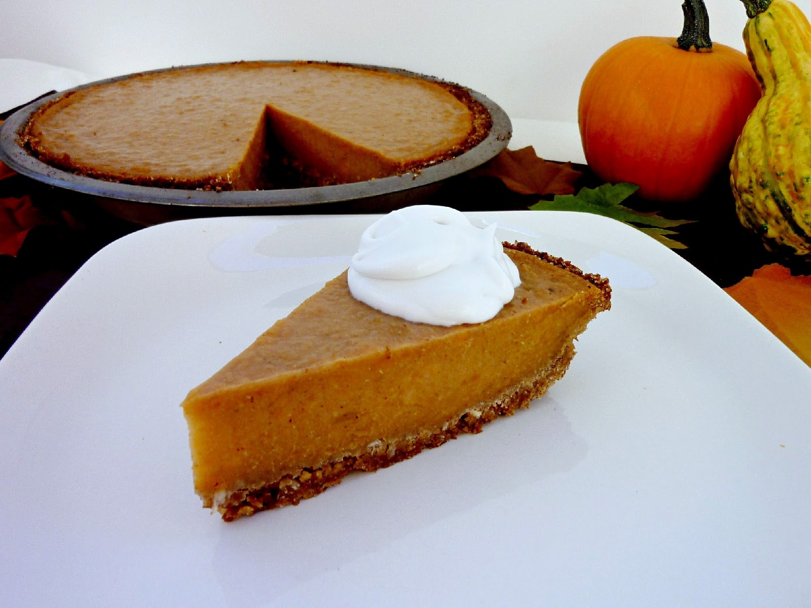 ... & Spice: Thanksgiving Week - Day 7: Vegan Coconut Sweet Potato Pie
