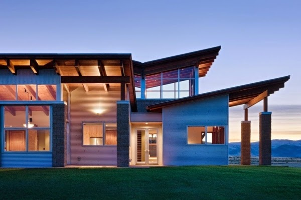 Spectacular Modern Architectural Country House In A Remote ...