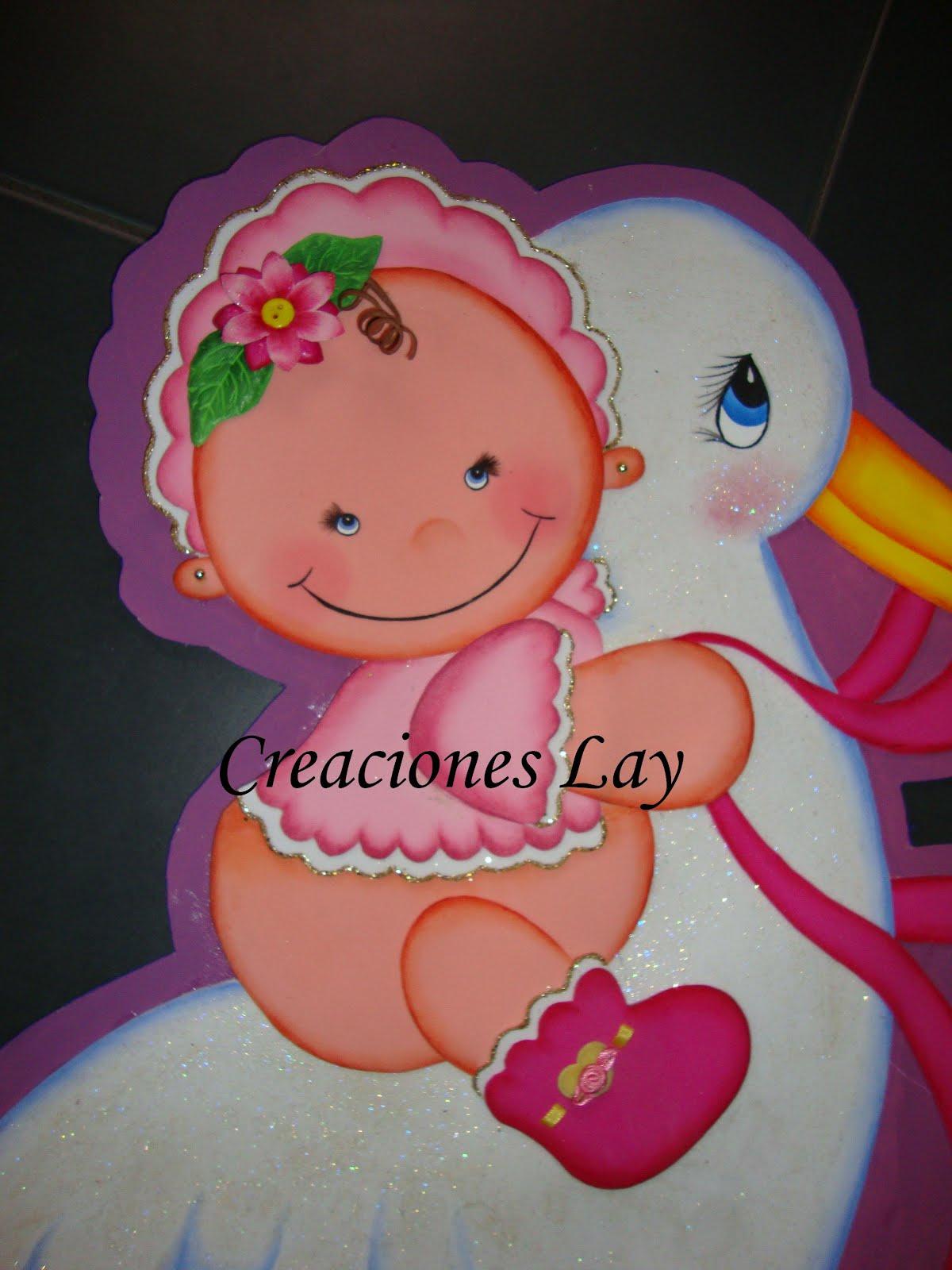 Creaciones lay Decoracion Baby shower ni±a