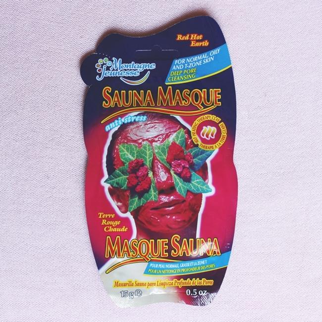 Instagram @lelazivanovic.Monatgne Jeunesse face mask Sauna Masque, review.Montagne Jeunesse maska za lice Sauna Maska.