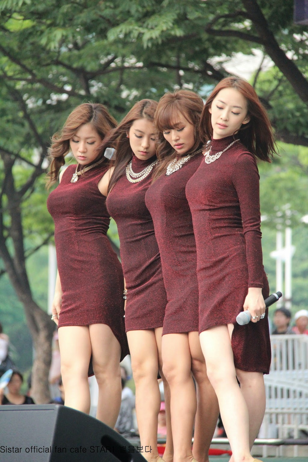 Sistar (씨스타) - (1) - 'Beef day' to announce the superiority of Korea Dairy Cattle Association on 09 June 2012