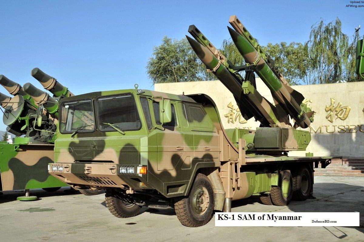 KS-1 SAM of Myanmar