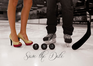 hockey save the date, Nicholas Angell wife
