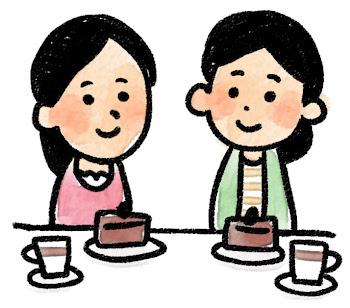 女子会のイラスト(パーティ)