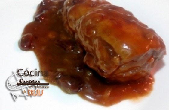 Cocina para novatos en tiempos de crisis solomillo de cerdo con salsa pedro xim nez - Cocina para novatos ...