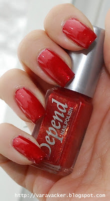 naglar, nails, nagellack, nail polish, depend, rött, red