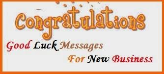 Congratulation Messages : Business
