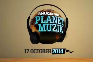 Keputusan Rasmi Anugerah Planet Muzik APM 2014
