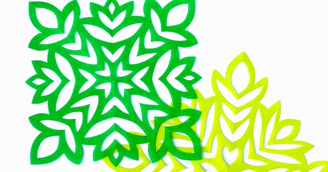 The Kirigami Project - Week 34 - Foliage