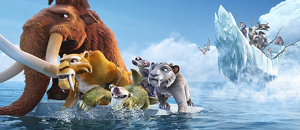 ice age 4 - continental drift, movie, animation