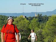 Vistes del veïnat de Viladecavalls de Calders des del Meandre del Clot del Soldat