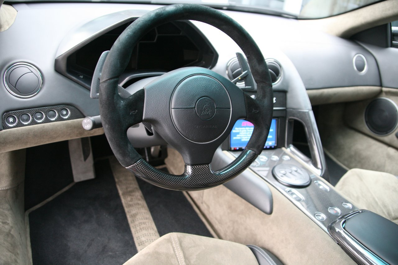 lamborghini reventon interior - photo #7