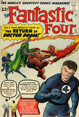 Fantastic Four #10, Dr Doom