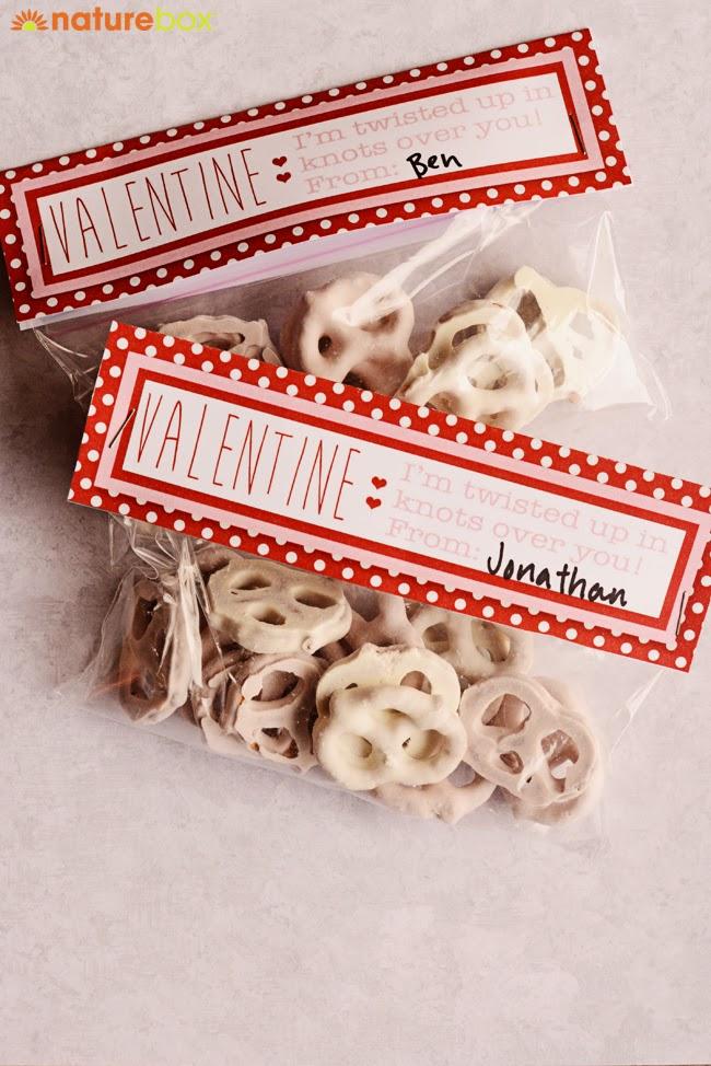 Valentine's Snack-O-Gram | Free Printables