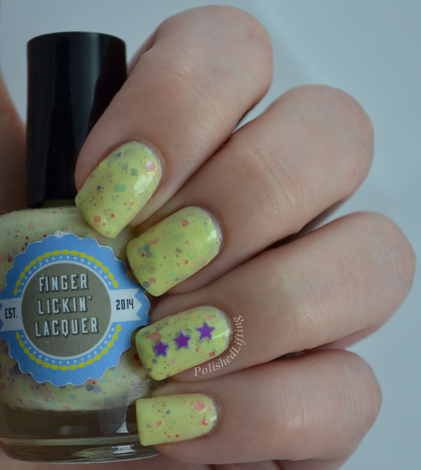 Finger Lickin' Lacquer Bby Chickens custom