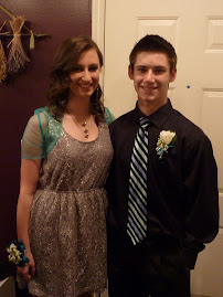 Ryan and his date to Sweet hearts