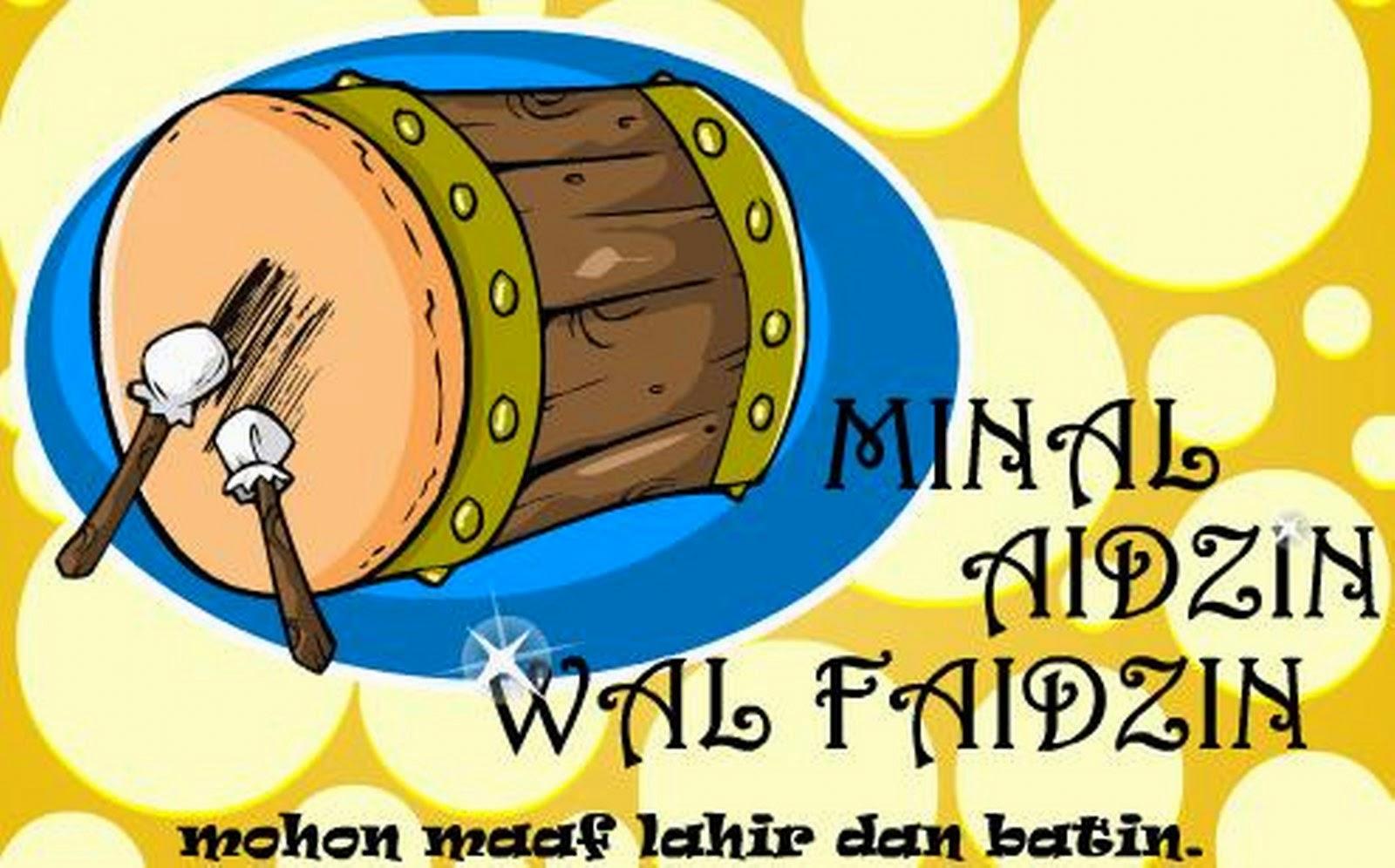 Kartun Ucapan Selamat Hari Raya Iedul Fitri