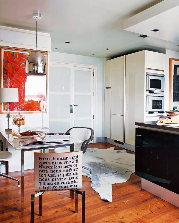 Gostam deste estilo de decoração de interiores?