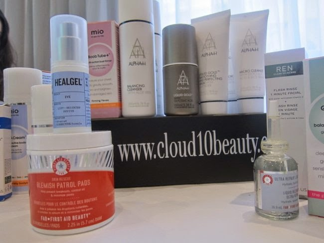 Cloud10Beauty.com Relaunch