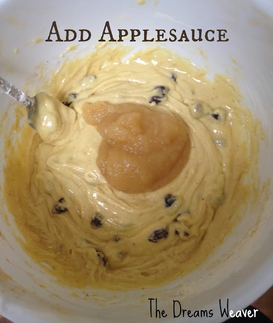 Applesauce Raisin Biscotti~ The Dreams Weaver